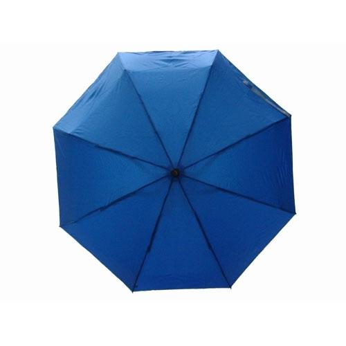 五折蓝色素色伞