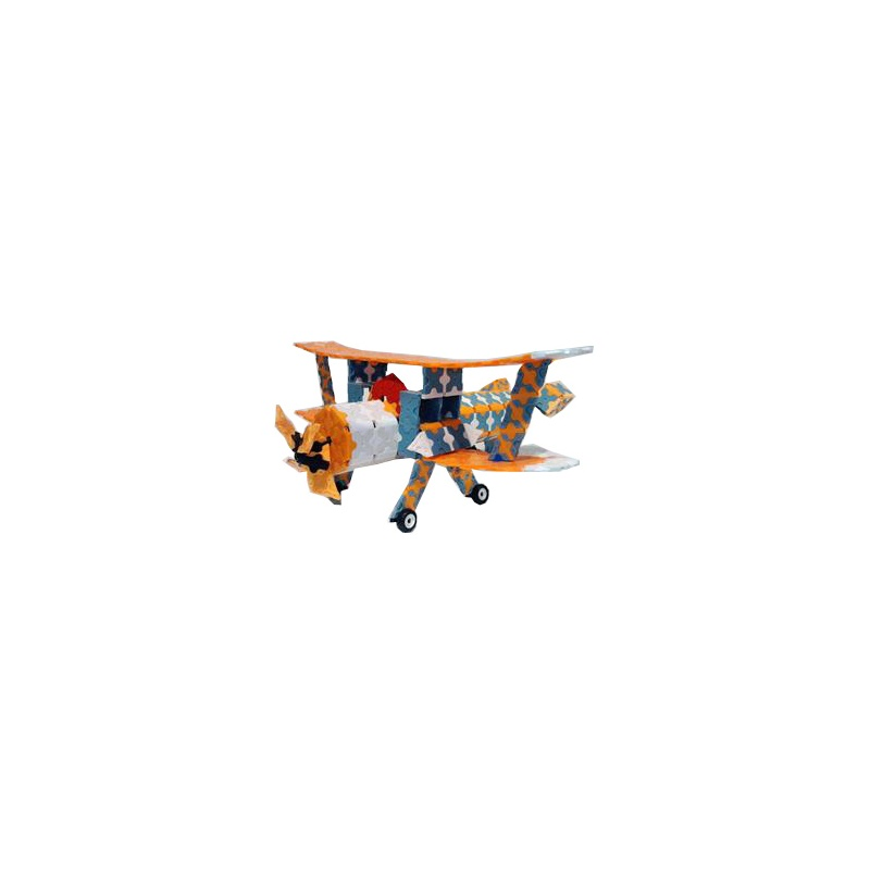 大树智能创意玩具 滑翔飞机 538pcs no.18001
