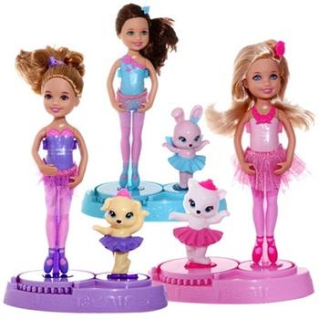 Barbie 芭比 粉红舞鞋之小凯莉舞步¥50
