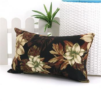 30x50花纹条纹抱枕靠垫_咖啡贵族2.