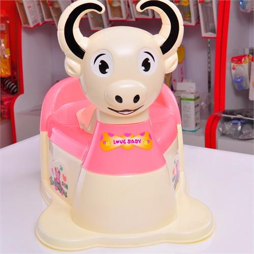可爱奶牛婴儿座便器 儿童马桶