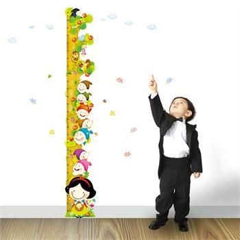 儿童量身高墙纸