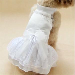 特价狗狗的衣服 公主款连身裙 狗礼服 婚纱服 新款泰迪贵宾犬衣服