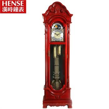 汉时欧式落地钟客厅表创意机械钟座钟现代时尚摆钟进口简约hg5012