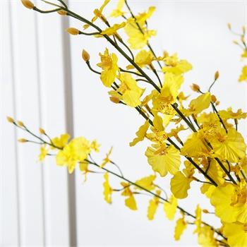 欧式客厅装饰高仿真花艺绢花假花兰花