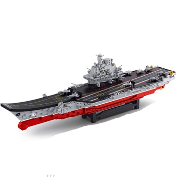 儿童益智玩具海军航母