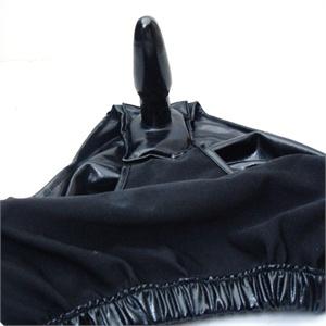 品信情趣 支持货到付款 穿戴肛栓情趣内裤后庭女用自慰器具高潮性爱用品 黑色阳具内裤