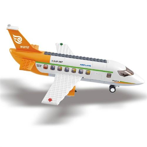 小鲁班 航空天地 国际机场 益智积木拼插玩具 m38-b0367 (适合6岁以上