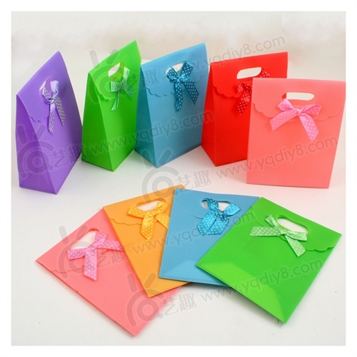 母亲节礼物儿童手工制作混色无纺布礼物袋diy幼儿园手工自制材料