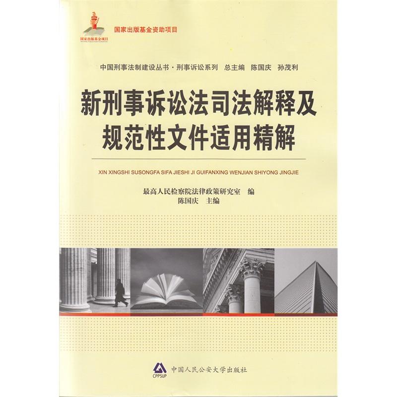 新刑事诉讼法司法解释及规范性文件适用精解