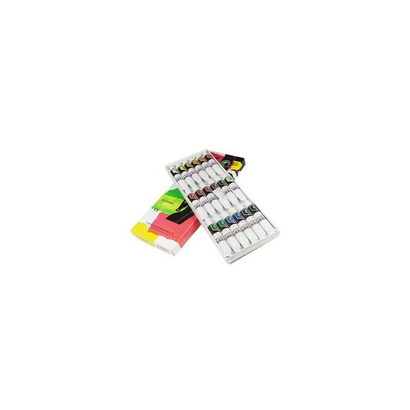 马利丙烯颜料818 18色丙烯画颜料/手绘衣服墙体美甲颜料