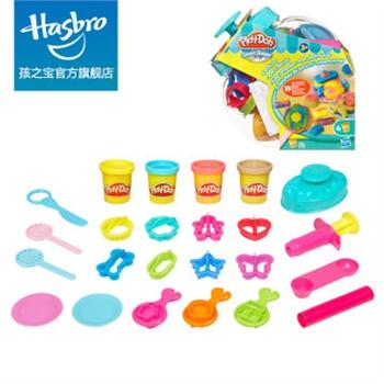 00 孩之宝 hasbro 培乐多 双色甜品店 软性彩泥 橡 166.