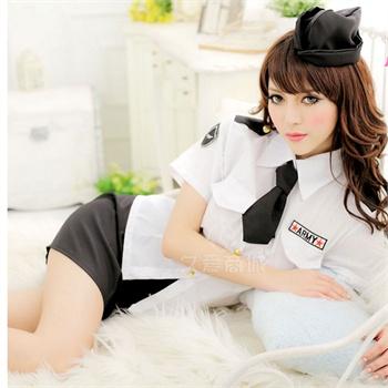 警察学生情趣内衣职业修身女空姐制服v警察空姐ol短裙酒店性感重庆球警察情趣图片