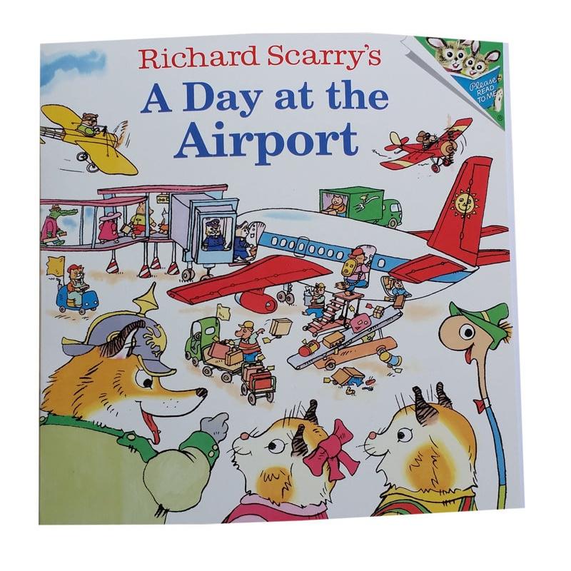 绘本飞机场的一天