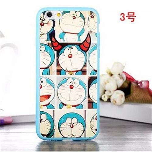 保护套哆啦a梦蓝胖子苹果5s iphone5手机壳机器猫可爱卡通情侣套潮_3