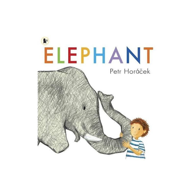 童大象简笔画步骤