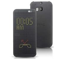 HTC m8手机套m8手机壳 one2原装皮套 HTC Dot view立显智能保护套