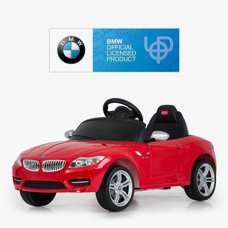 新款宝马z4儿童电动车四轮童车可坐宝宝电动汽车带