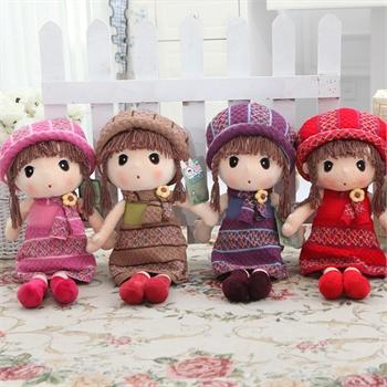 百变毛衣童话菲儿布娃娃可爱玩具洋娃娃毛绒玩具创