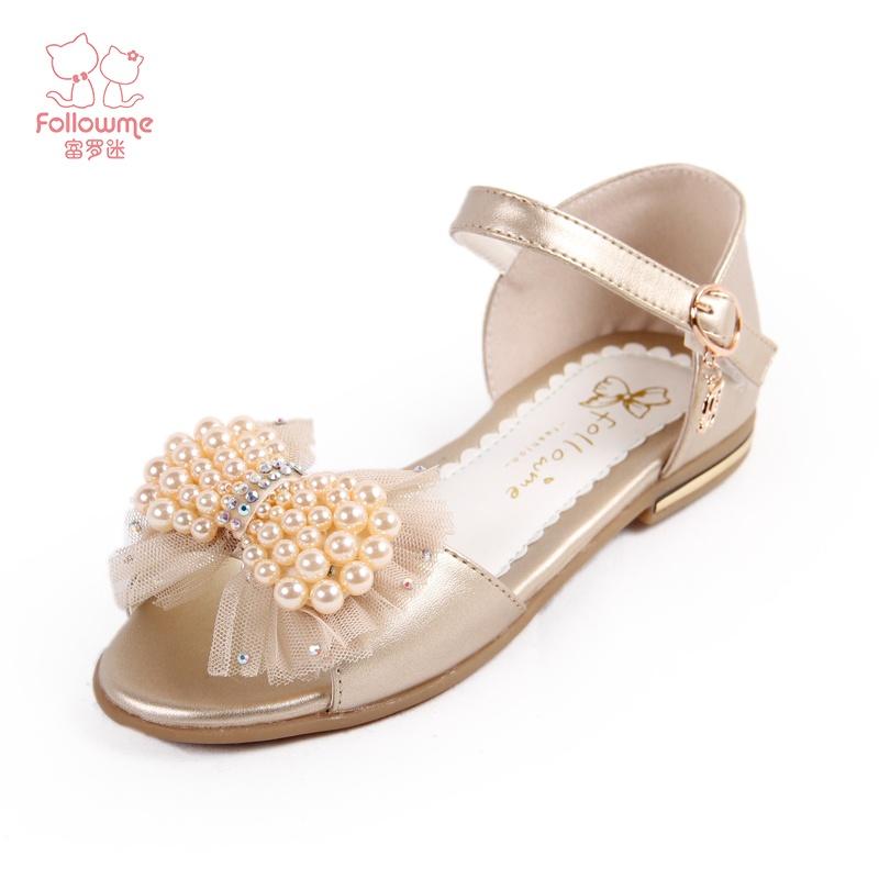 【富罗迷凉鞋】富罗迷女童凉鞋2014新款公主鞋儿童鞋