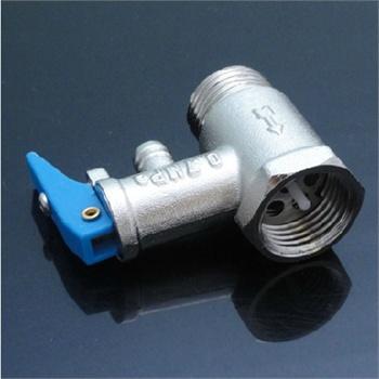 电热水器安全阀使用说明