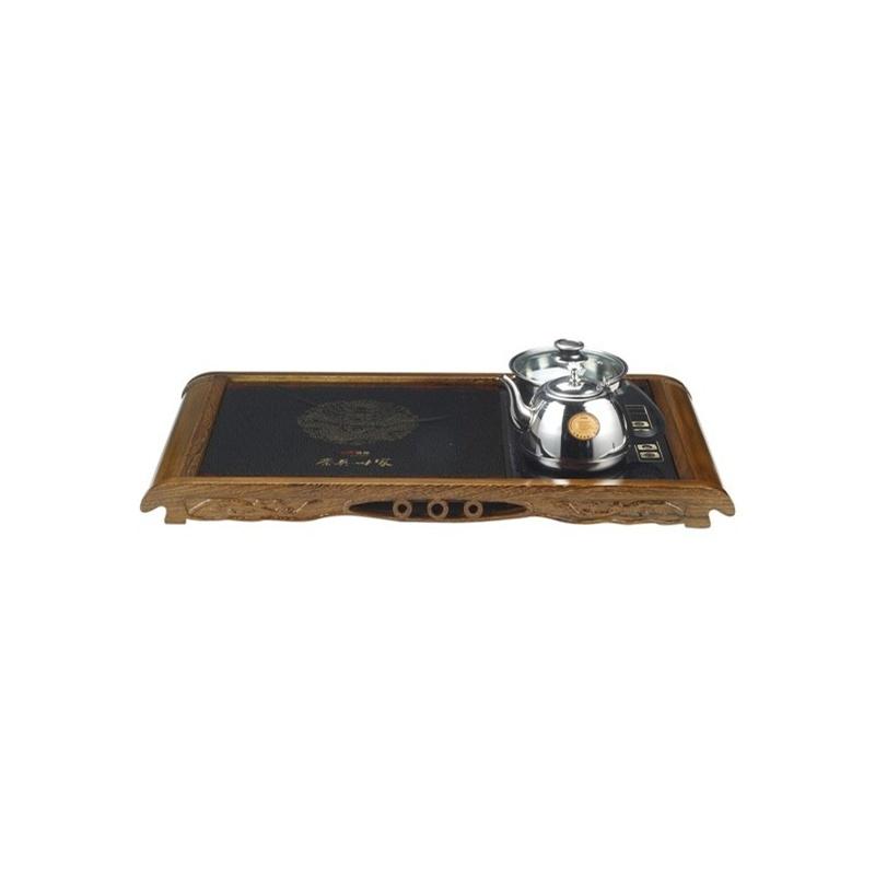 【悦洋电器专营店】炜腾电磁炉腾龙通宝鸡翅木茶盘wt-16s01(1619)