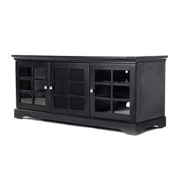 欧式组合电视柜 别墅黑色