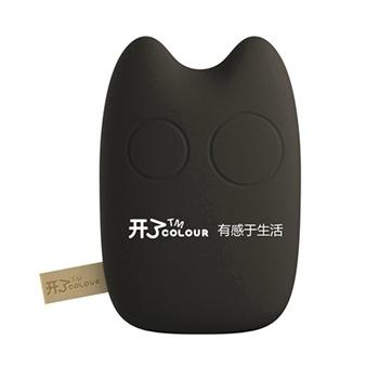 鹅卵石龙猫造型移动电源 7800毫安 充电宝图片