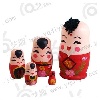 幼儿园手工材料手工diy儿童手工制作-diy白坯新春