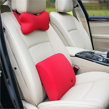 铁臂阿童木 汽车头枕腰靠 汽车用品 车用记忆棉骨头枕 枕靠背垫 套装