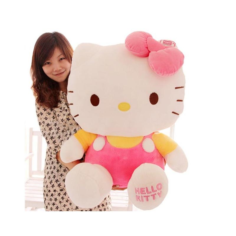 kitty凯蒂猫可爱猫咪毛绒玩具抱枕公仔