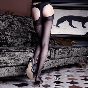 夜火 情趣内衣 连体丝袜 性感露臀连裤袜 5109   支持货到付款