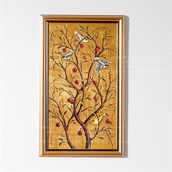 高档画芯欧美式客厅玄关风水装饰画壁画