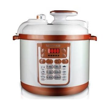 【乐创】lecon/乐创 百味锅 LC90B 完美的高压煲电压力锅双胆正品5L升包邮