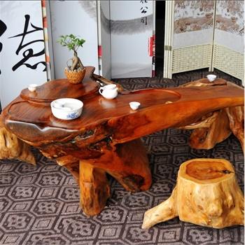 根之魂 实木根雕茶几茶桌茶台 老挝花梨木雕精致根雕茶桌 实木红木