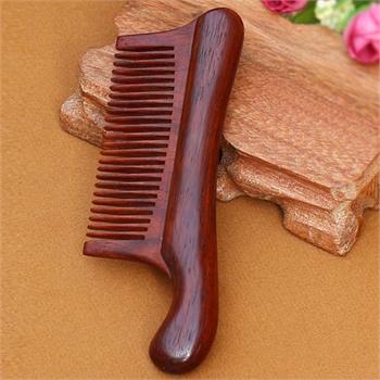 馨怡阁木梳子红木梳子手工工艺保健美发造型工艺红木梳07