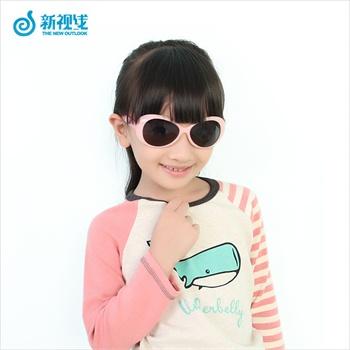 超萌可爱 男童女童儿童护目镜 时尚萌娃儿童墨镜 超高强度镜片 耐腐蚀