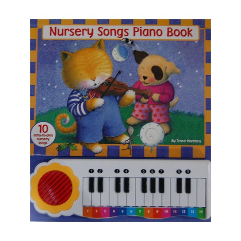 Songs Piano Book 童谣 钢琴书 毛
