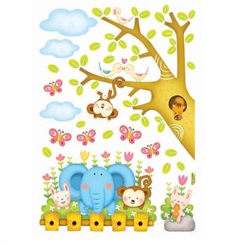 森林里可爱的小动物图片