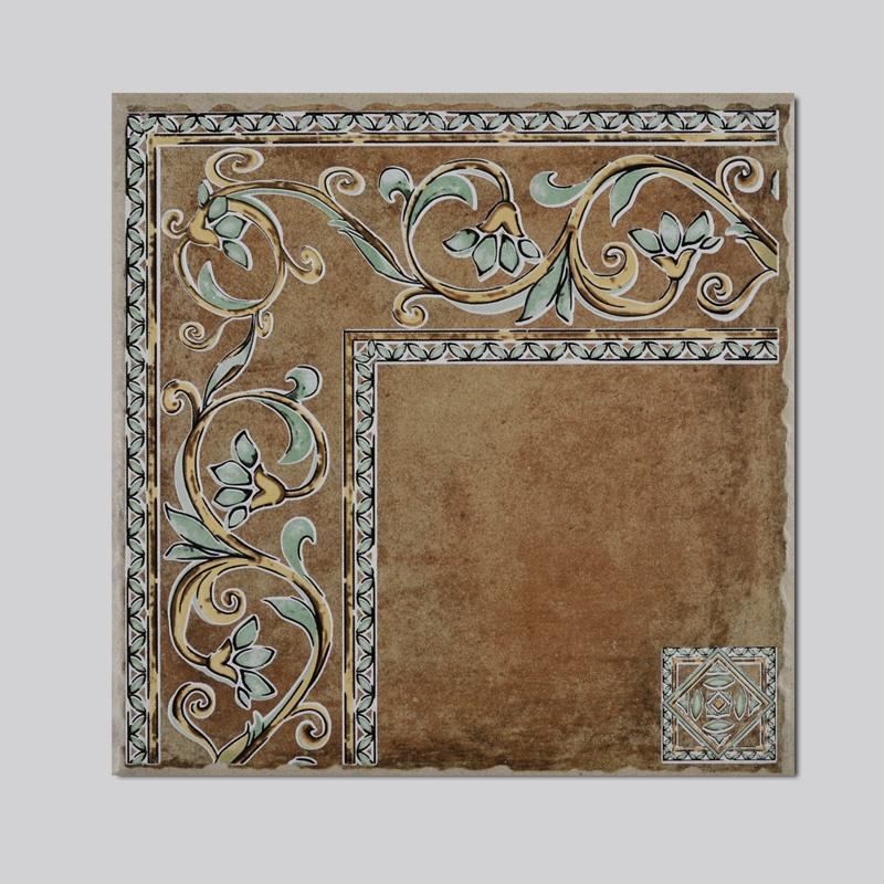 高恩 地中海仿古砖 地中海美式风格 客厅仿古瓷砖拼花组合 防滑300*图片