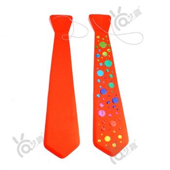 艺趣父亲节创意礼物儿童手工diy制作父亲的领带送图片