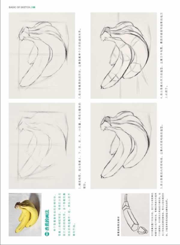 敲门砖系列:绘画基础教程——素描基础:结构素描 结构