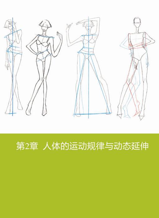 编辑推荐   《时装设计效果图人体动态规律》是来自一线服装设计师