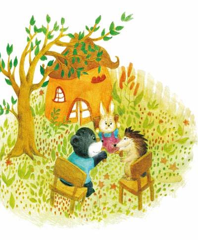 吃掉枕头的熊 名家童话美绘书系 注音版