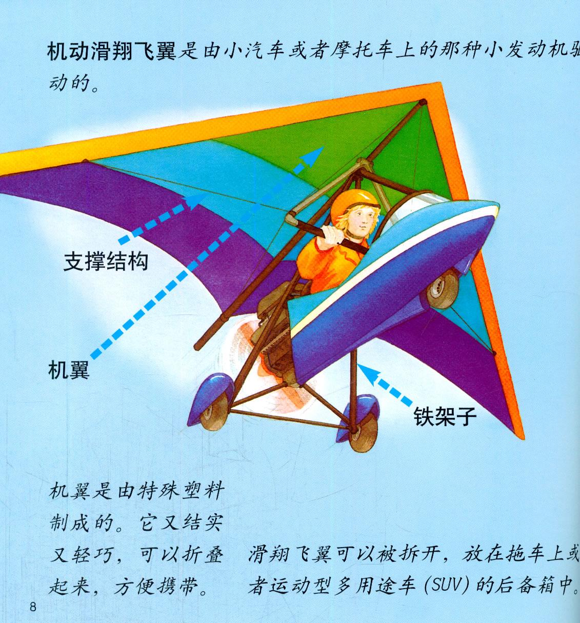 幼儿园交通工具小百科系列·飞机