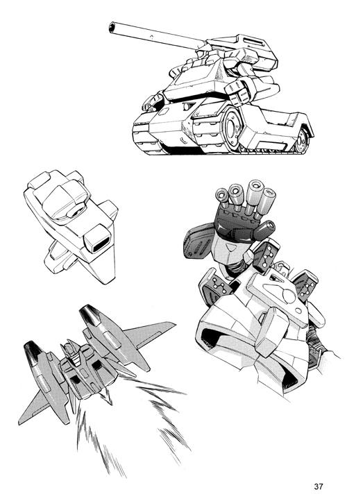 【50种机器人画法-国外手绘教程】