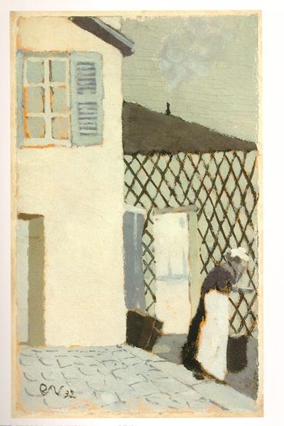 西方绘画大师经典作品——维亚尔静物风景