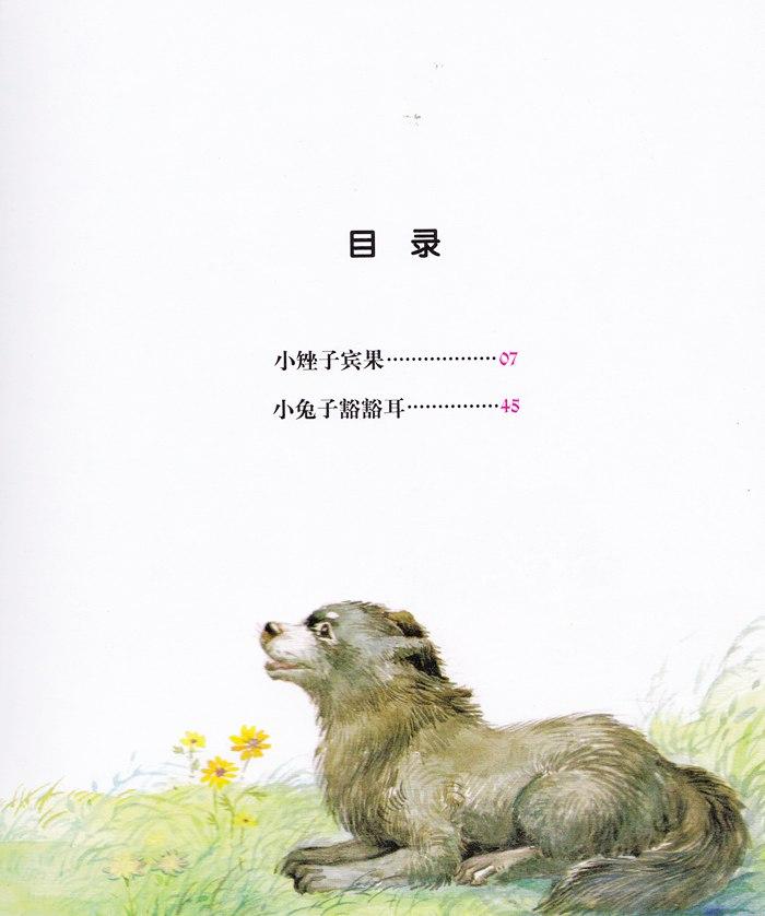 图文对照动物脚印