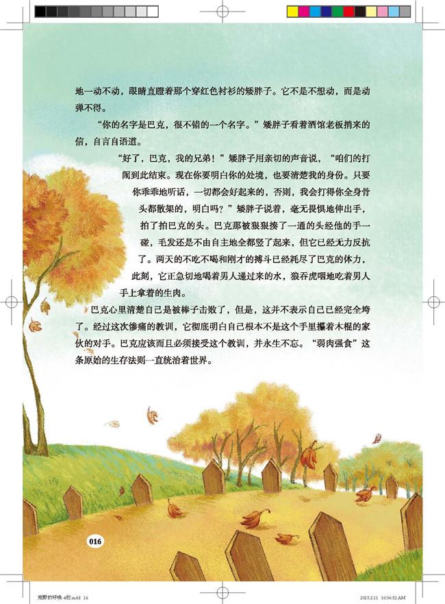 乡村荒野小说
