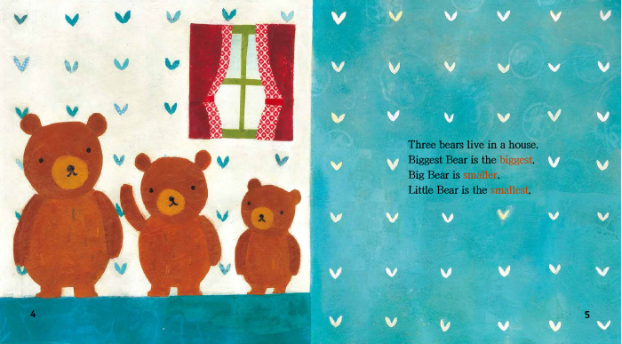 三只熊(4-5岁下)(丽声我的第一套亲子英文绘本)(点读版)